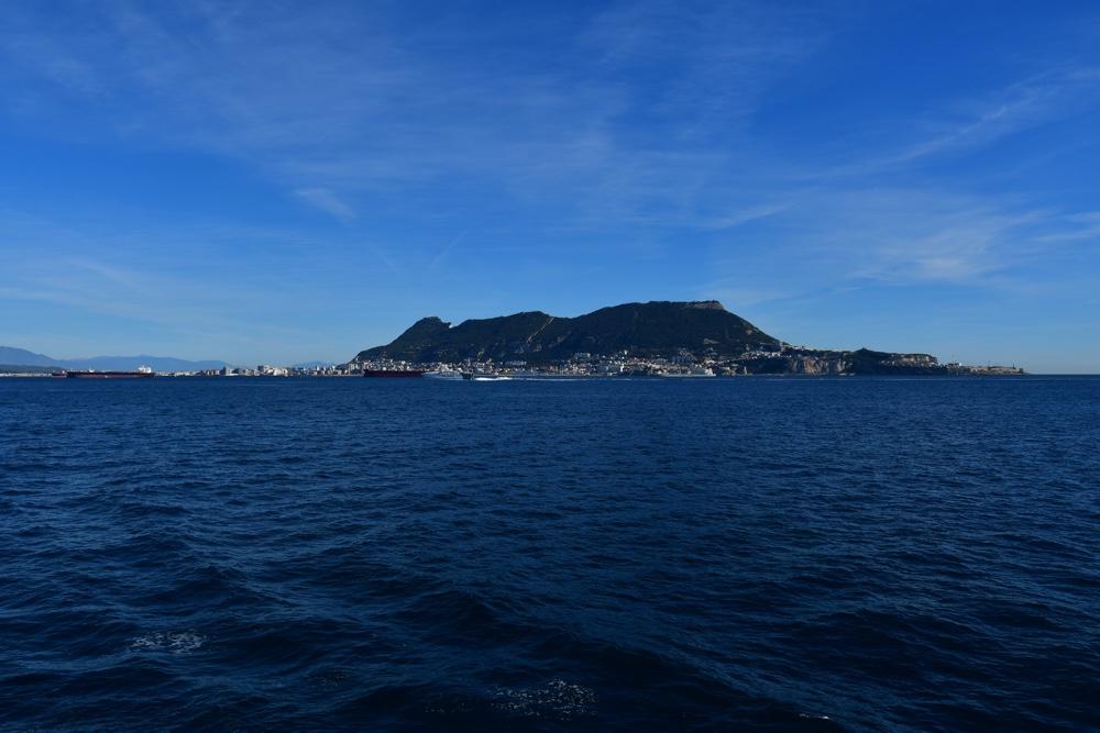 Gibraltar Meer Kueste Schiffe