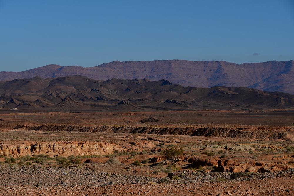 Grenzwall Berge Algerien