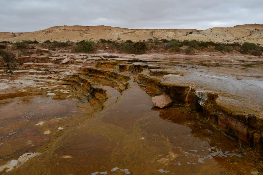 oberhalb Wasserfall Westsahara