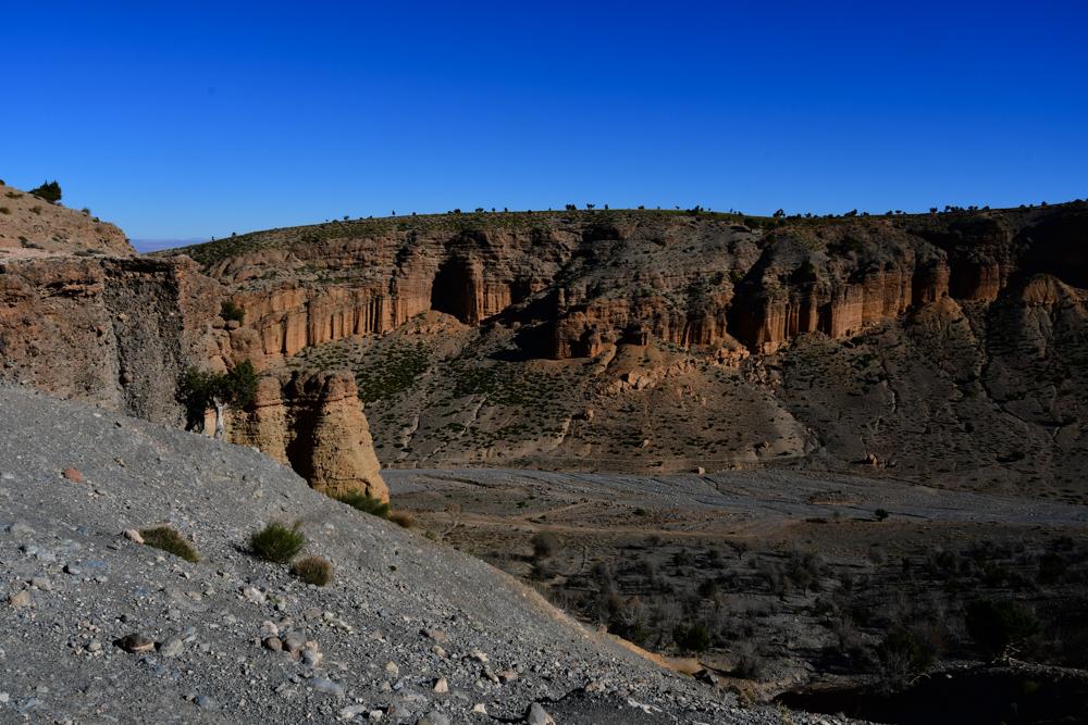 Oued Jaffar von oben