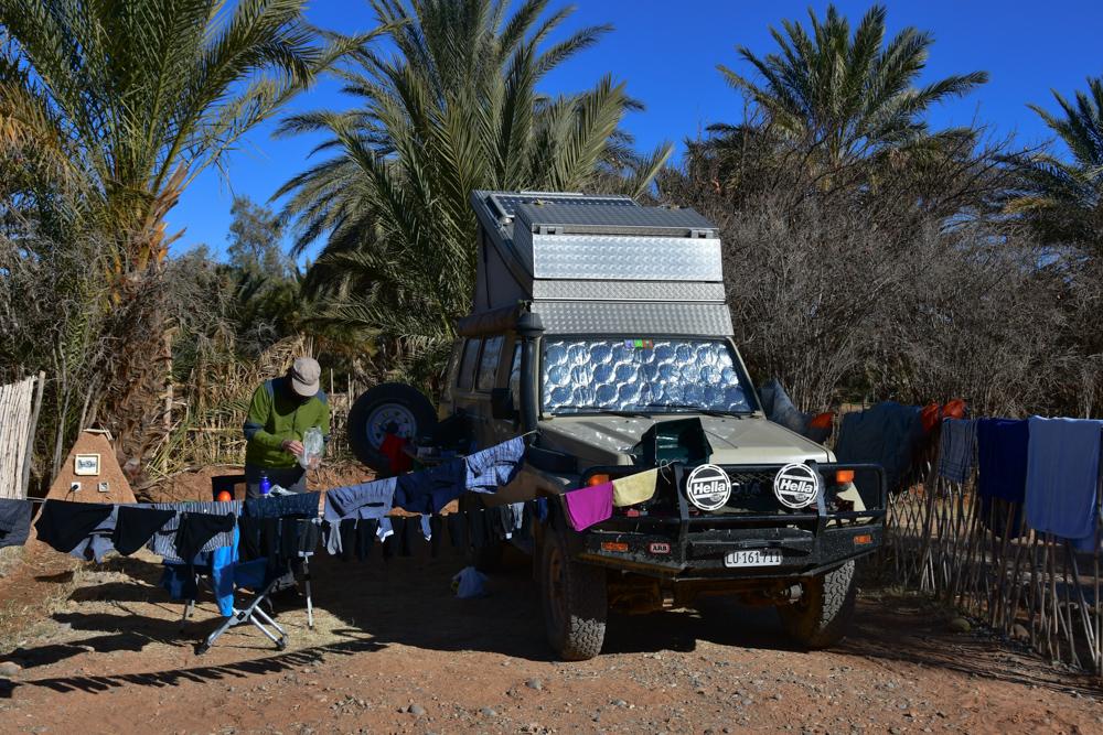 Waschtag Camping Boudenib