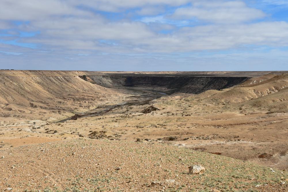 Wasserfall in Westsahara ferne