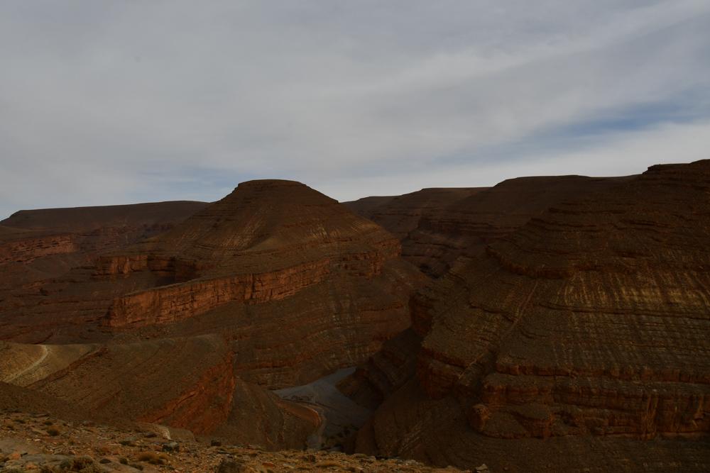 Berge um Tizi n Ouano Pass