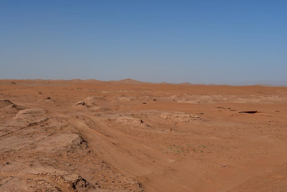 Sandpiste vor Erg Chegaga