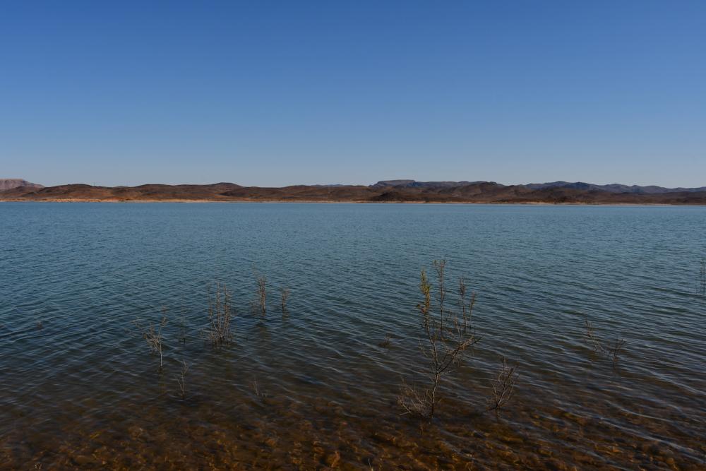 Stausee bei Ouarzazate