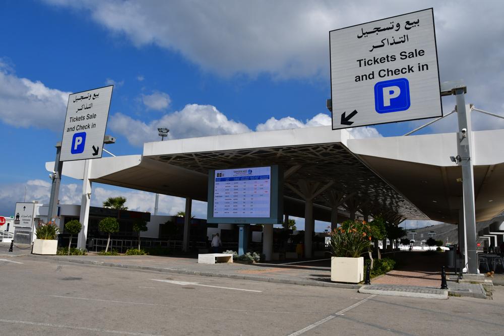 Ticket kaufen am Hafen Tanger Med