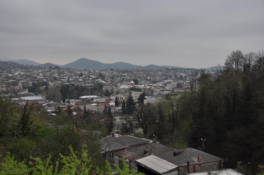 über den Dächern von Kutaisi
