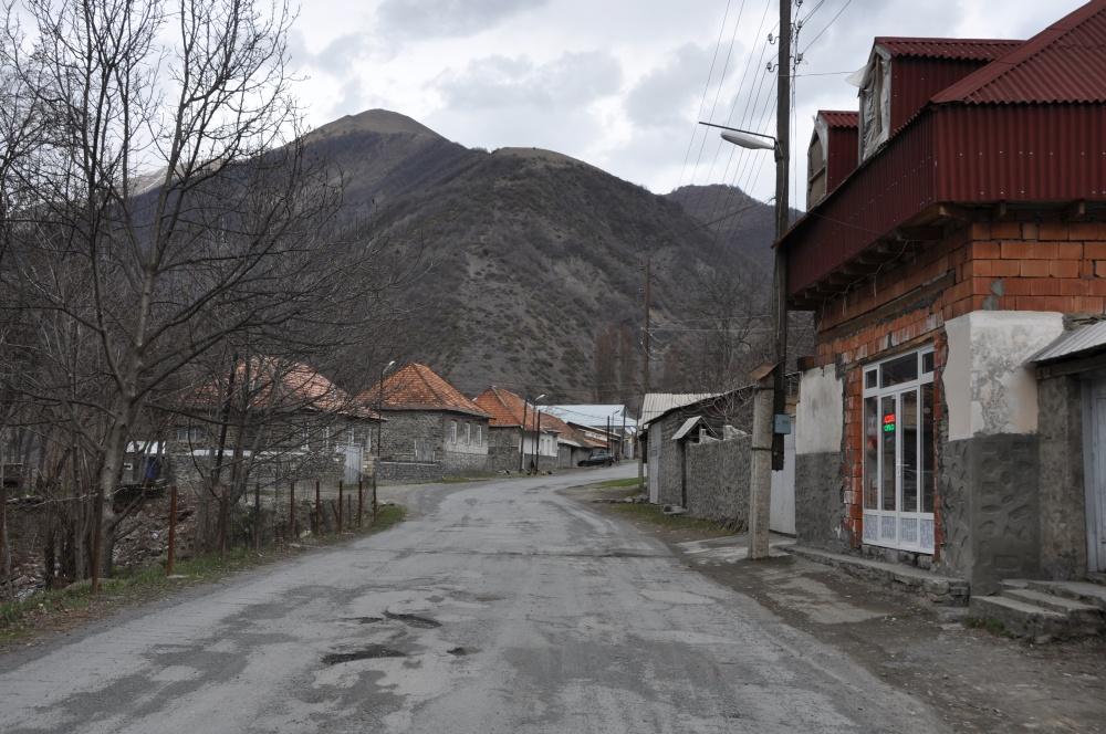 Bergdorf in Aserbaidschan