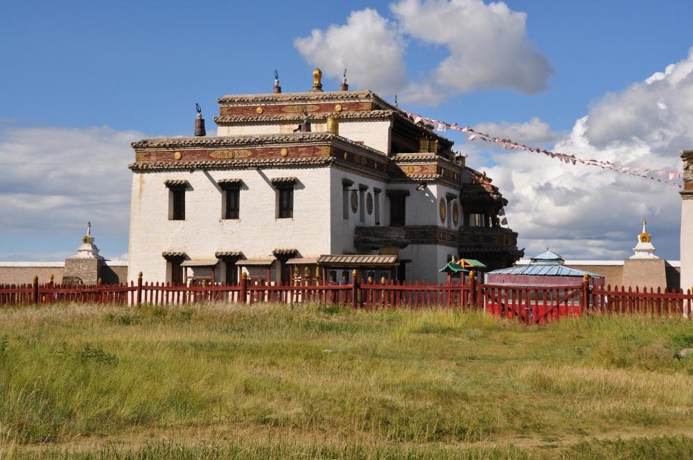 Bewohnte Kloster Erdene Zuu