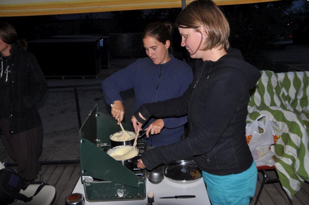 Fondue kochen