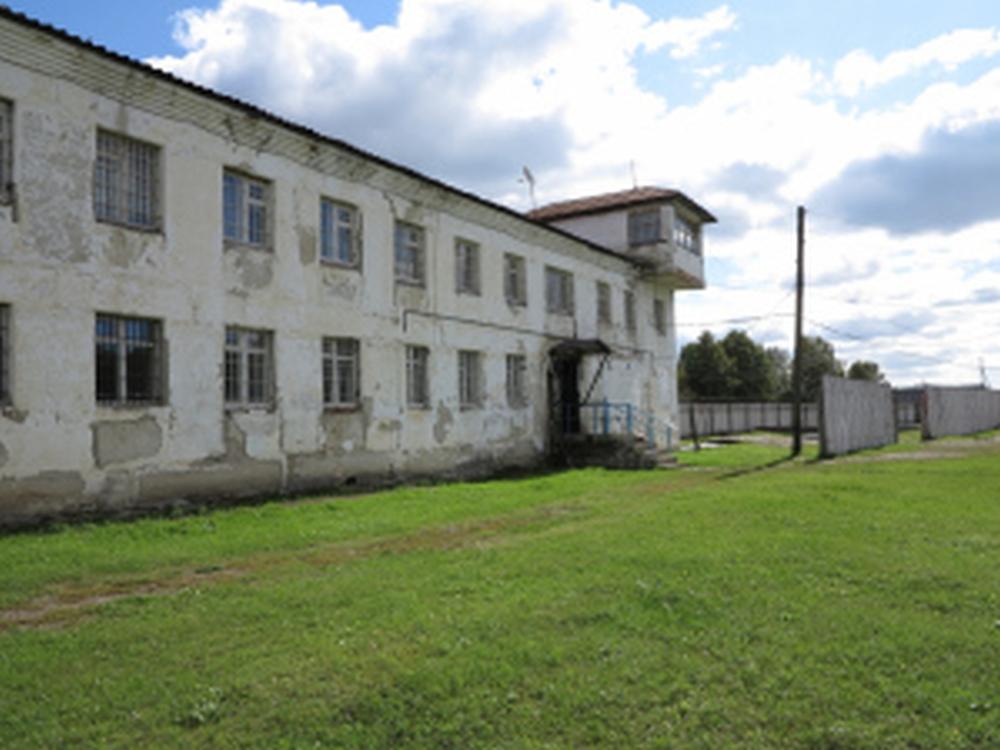 Gebäude vom Arbeitslager Perm-36