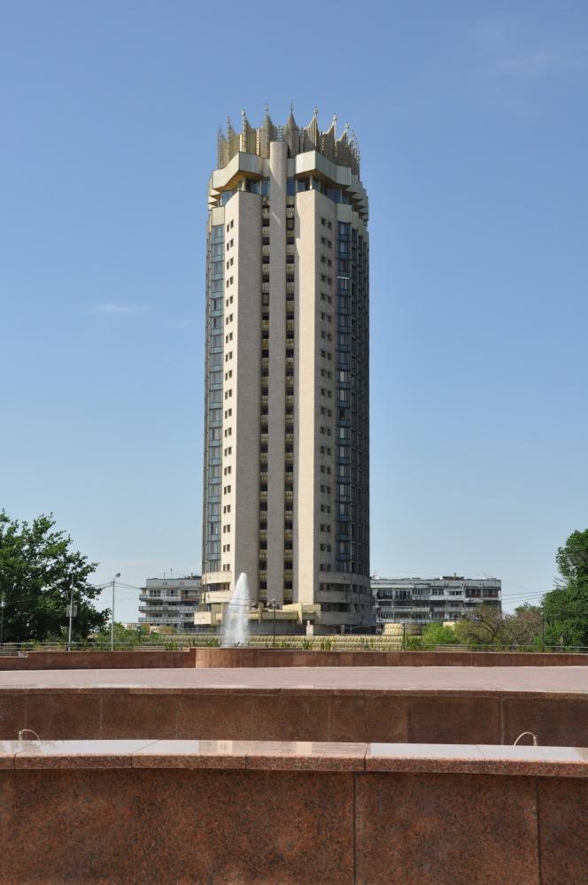 Hochhaus in Almaty