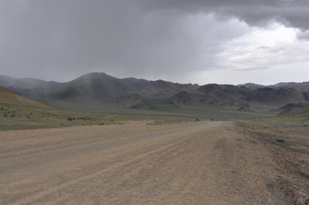 mongolische Piste