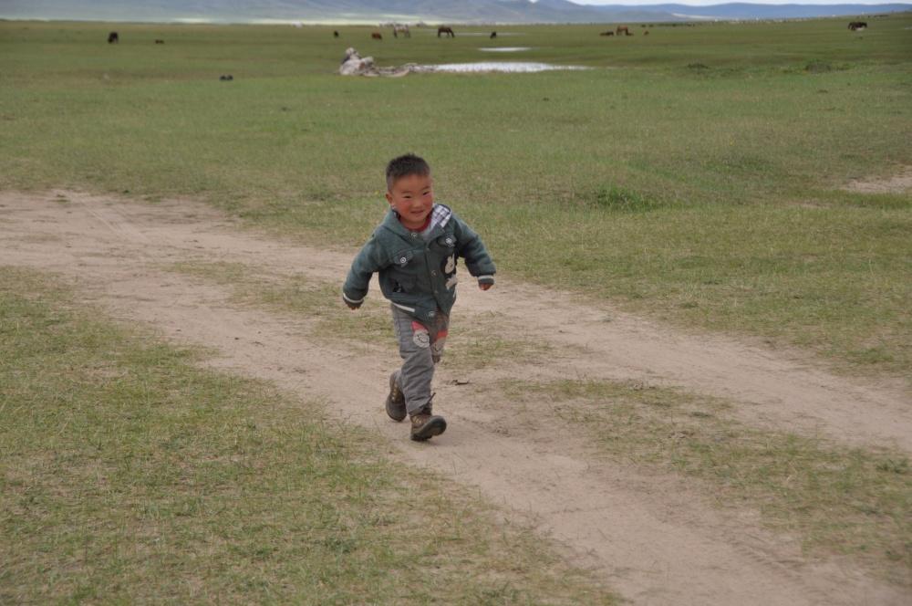 Mongolischer Junge