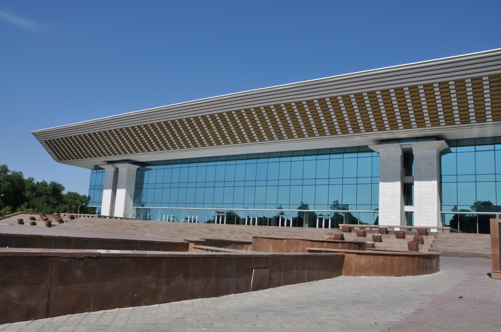 Palace of the Republic in Almaty