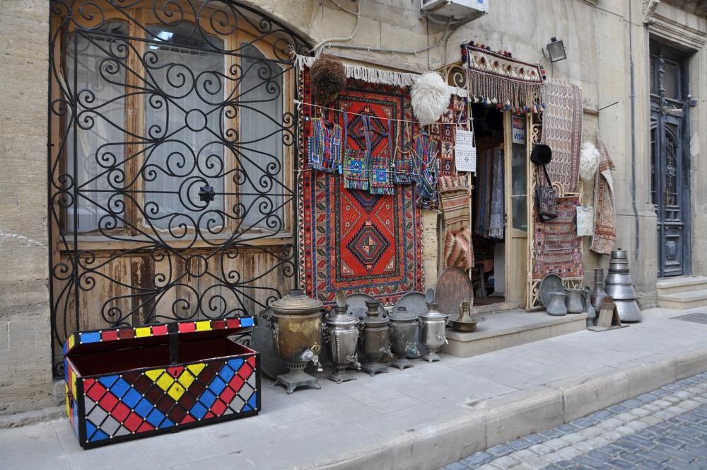 Teppichladen in Baku
