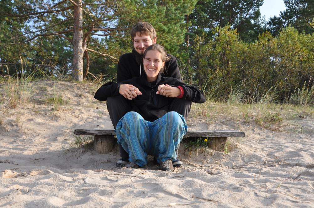 Tobi Fränzi Ostsee Lettland