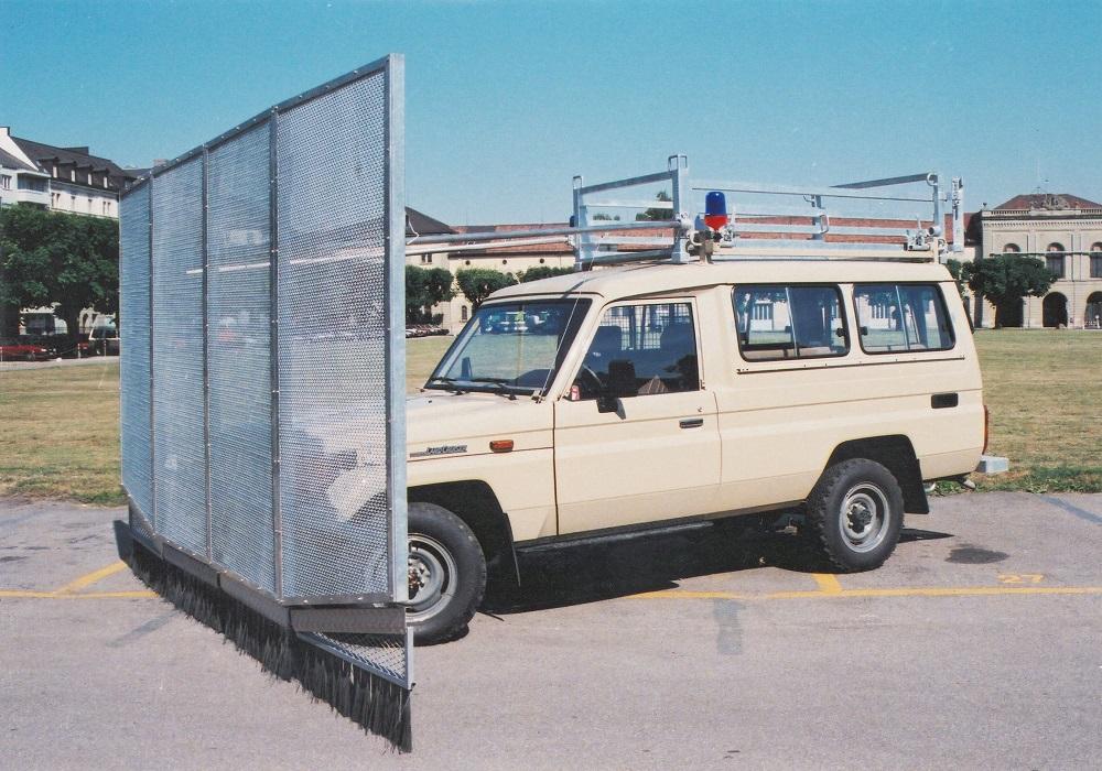 Toyota Land Cruiser BJ75 Polizei