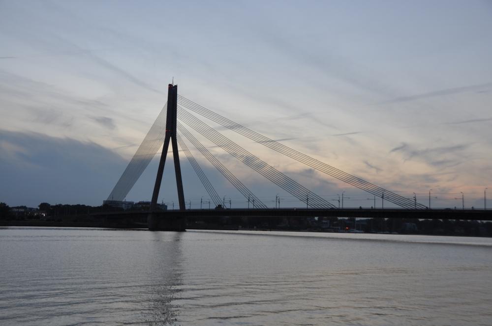 Vanšu-Brücke Riga