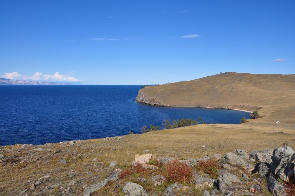 Westufer Olchon Baikalsee