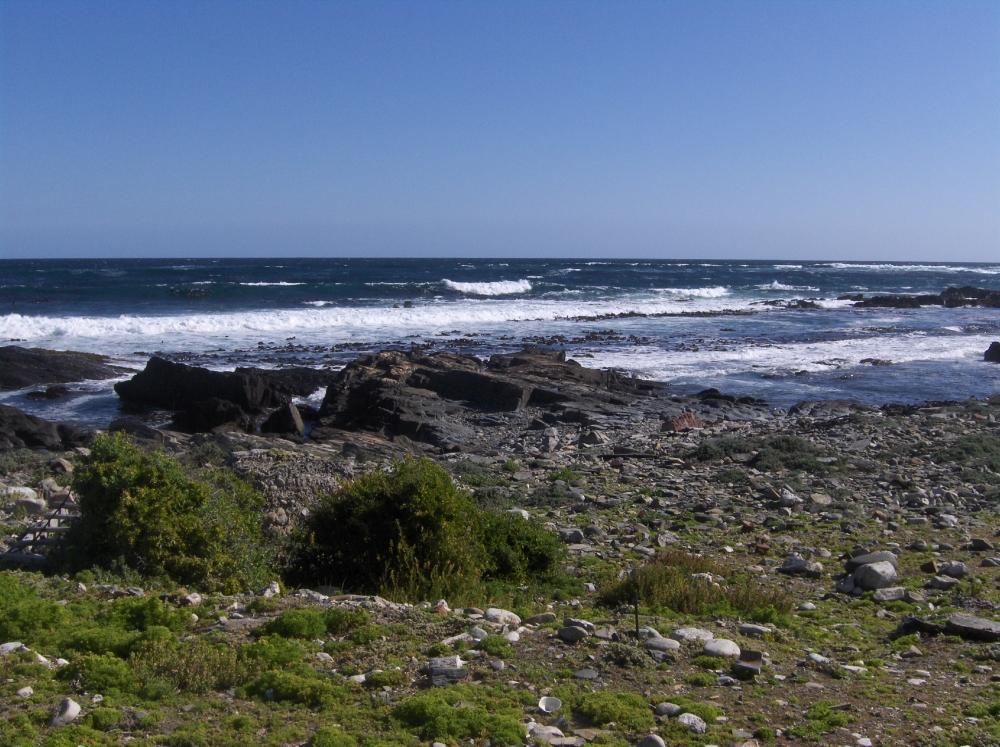 Blick aufs Meer, Robben Island
