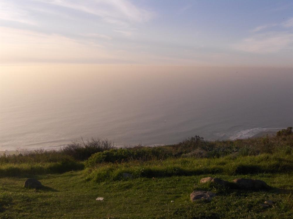 Die Weite auf das Meer vom Signal Hill