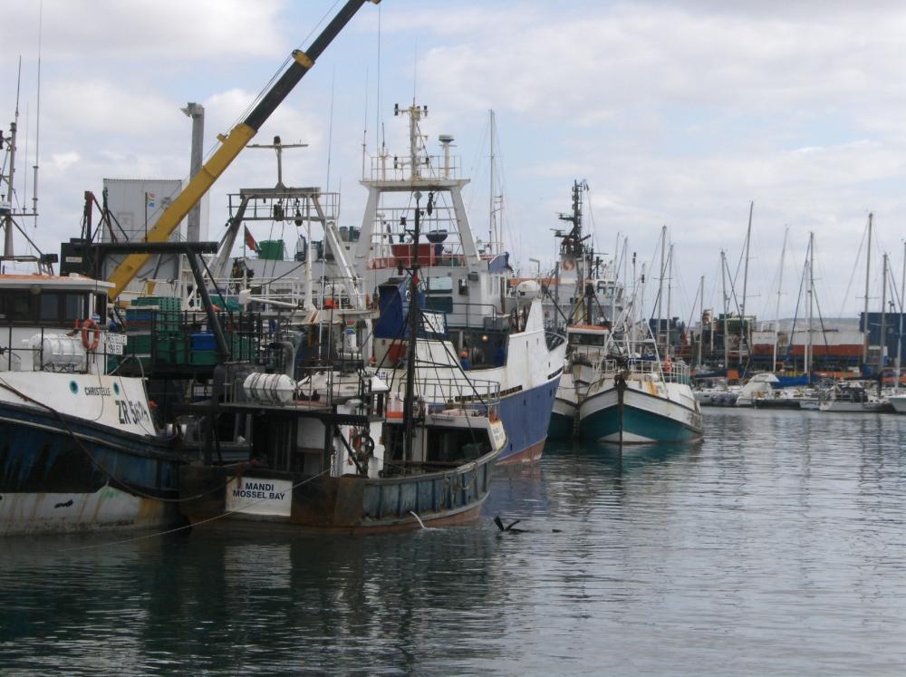 Hafen von Mossel Bay