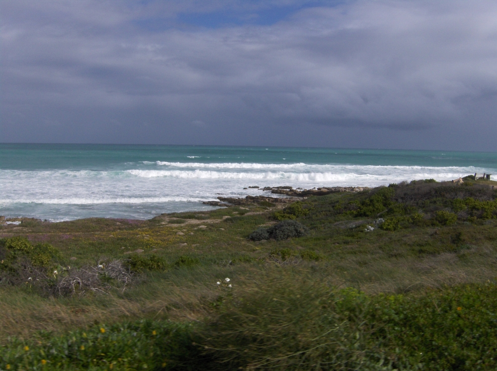 Indischer Ozean bei Struisbaai