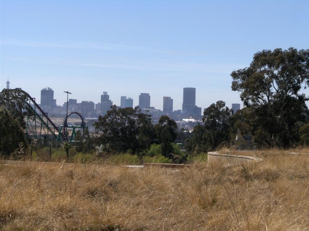Johannesburg aus der Ferne