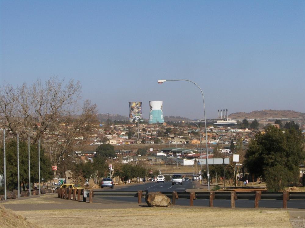 Orlando Power Station in Soweto