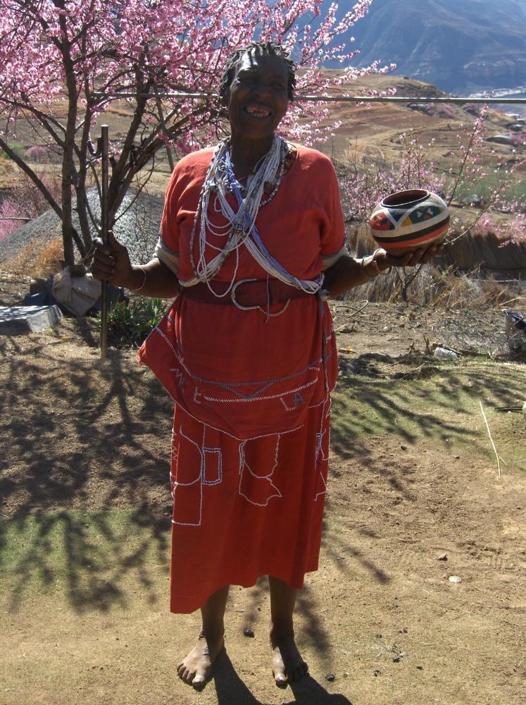 Sangoma - traditionelle Heilerin