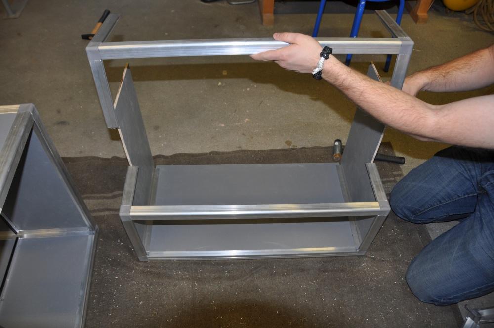 Casemaker Innenausbau weitere Aluprofile