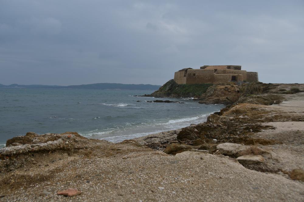 Fort Mittelmeer Regenwetter