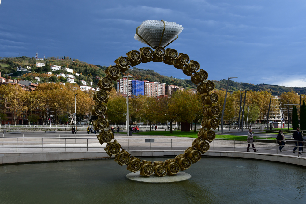 Kunstwerk Ehering Guggenheim Museum Bilbao