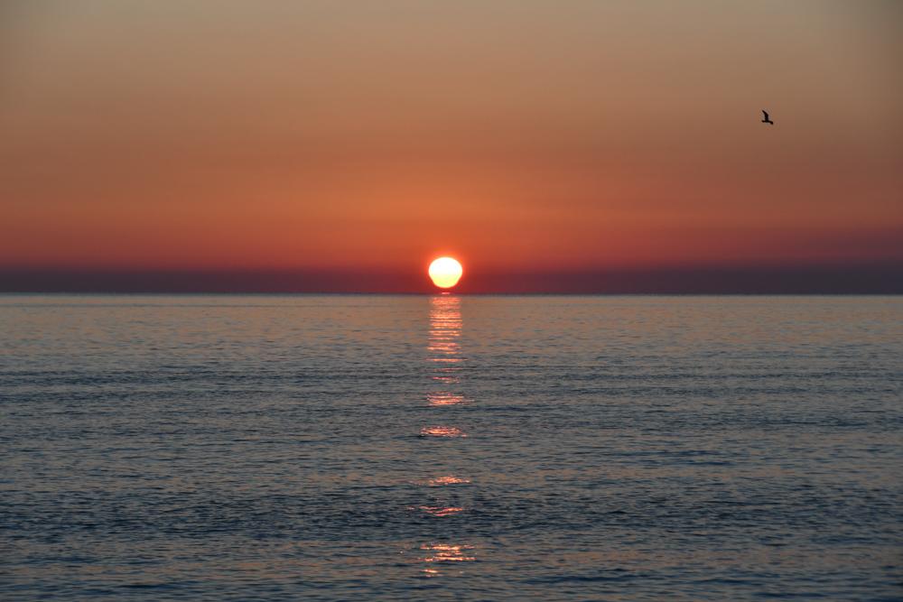 Sonnenaufgang Mittelmeer Saint Maxime