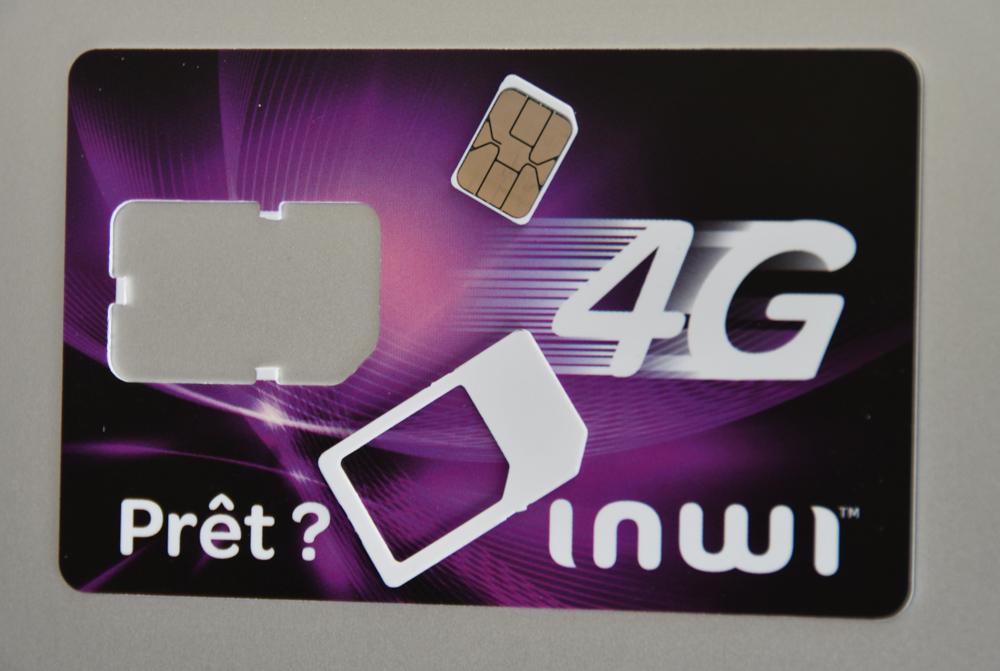 Inwi SIM-Karte