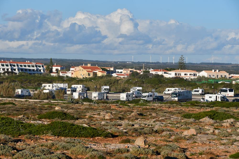Wohnmobilparkplatz Haeuser Algarve