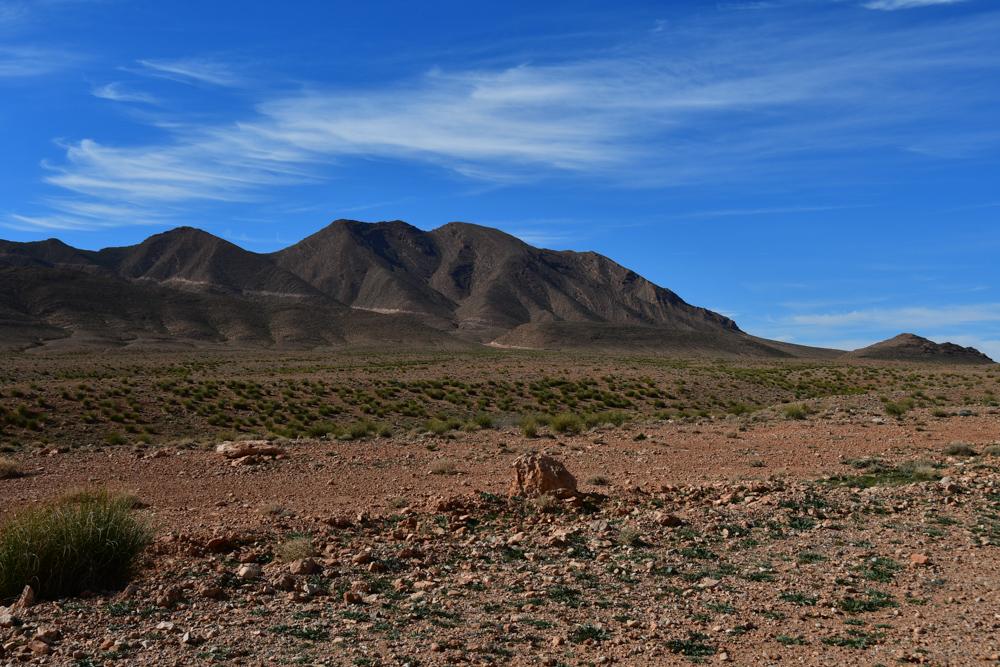 Berg auf Rekkam Hochebene