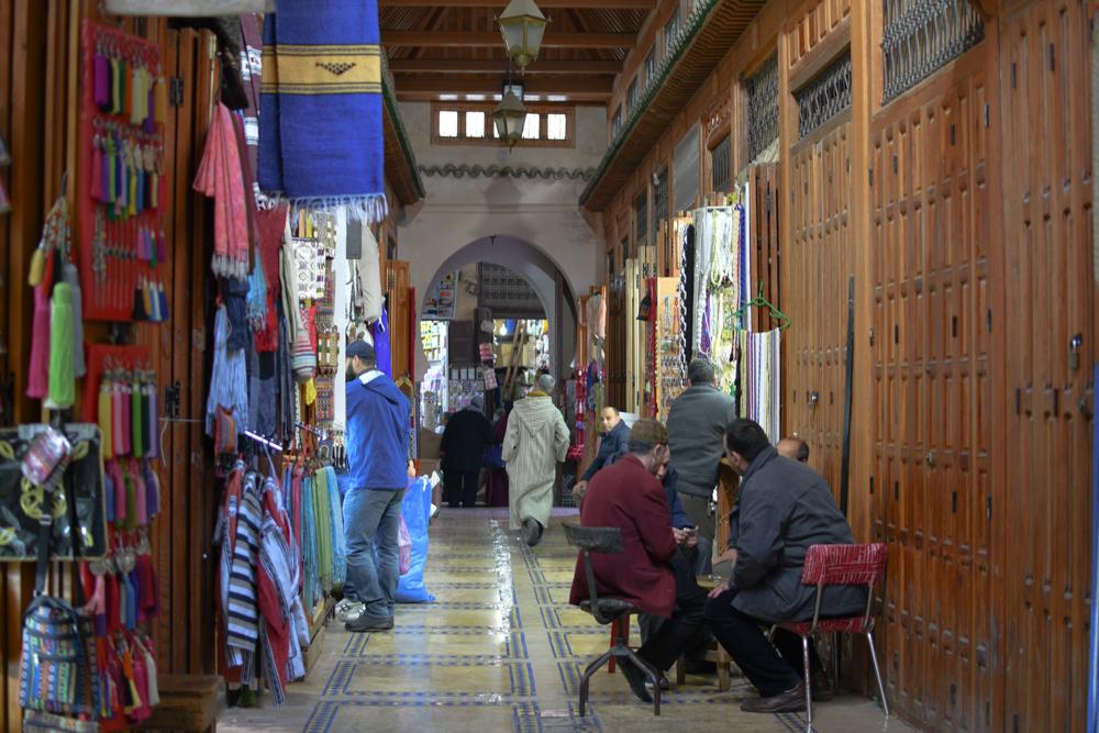Fes Gasse Geschlossene Medina
