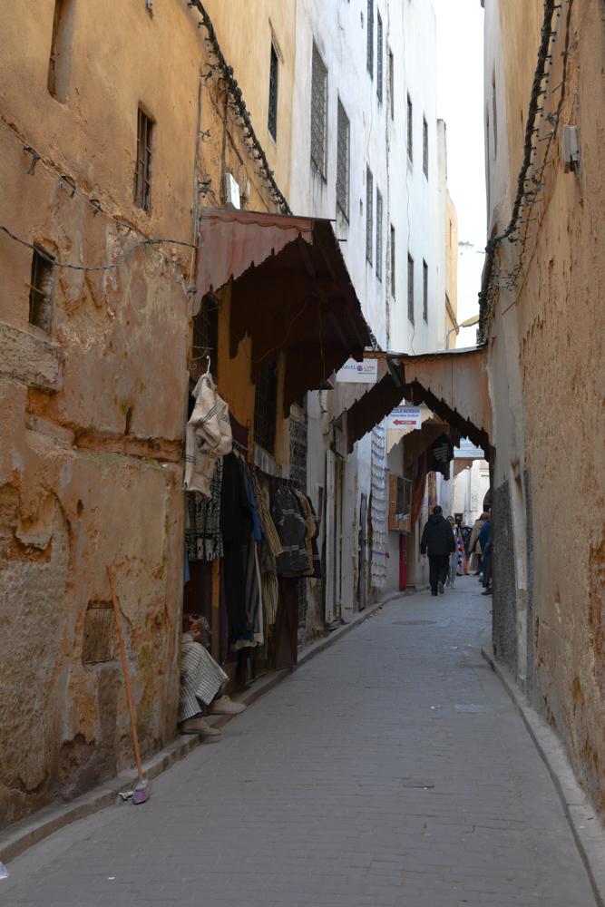 Fes Gasse in Medina