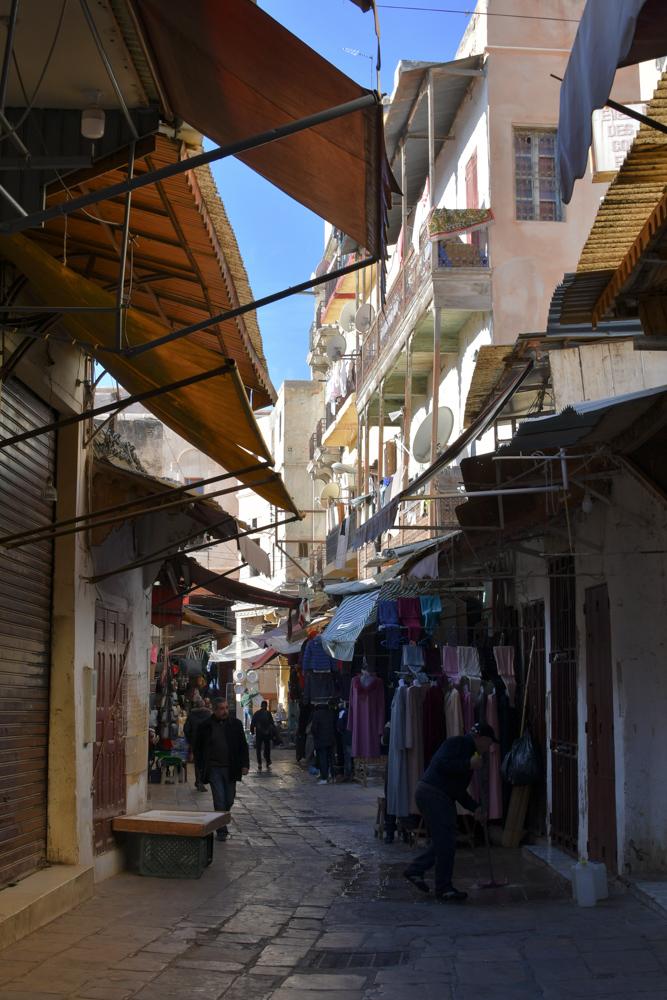 Fes Gasse Jüdisches Viertel