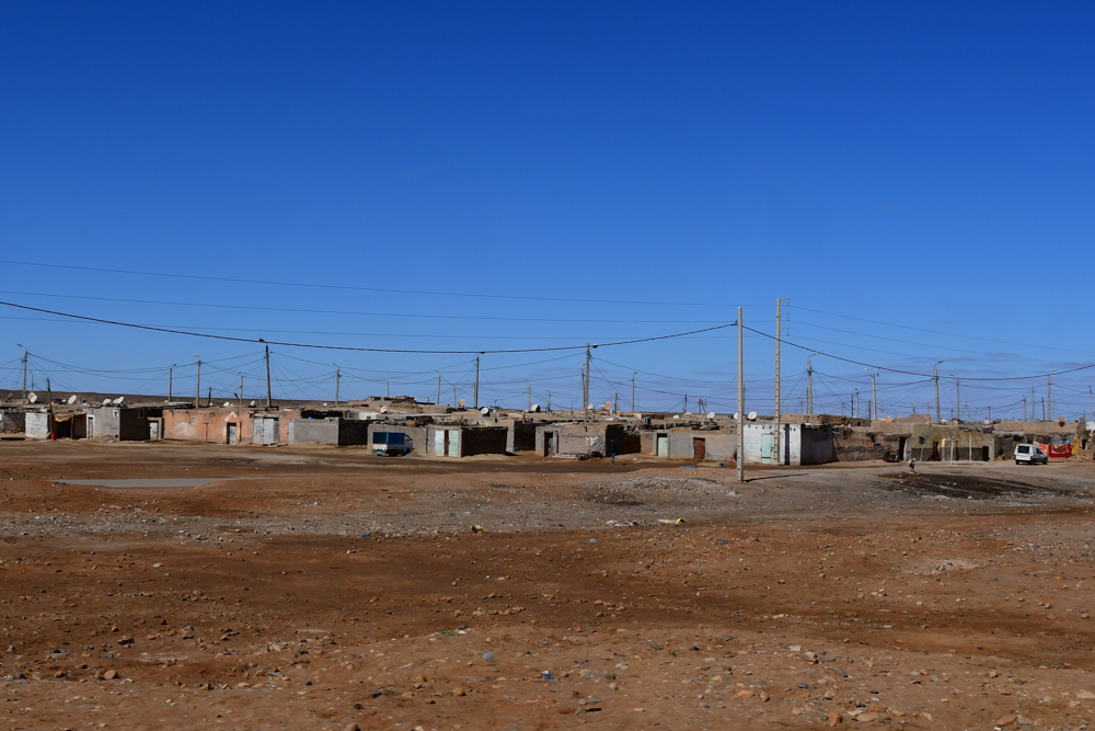 Aussenquartier Esmara einfache Huetten