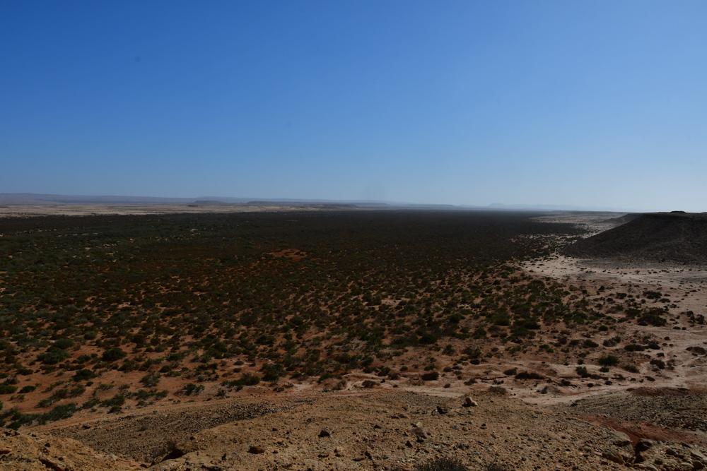 Aussicht in Oued gruene Buesche