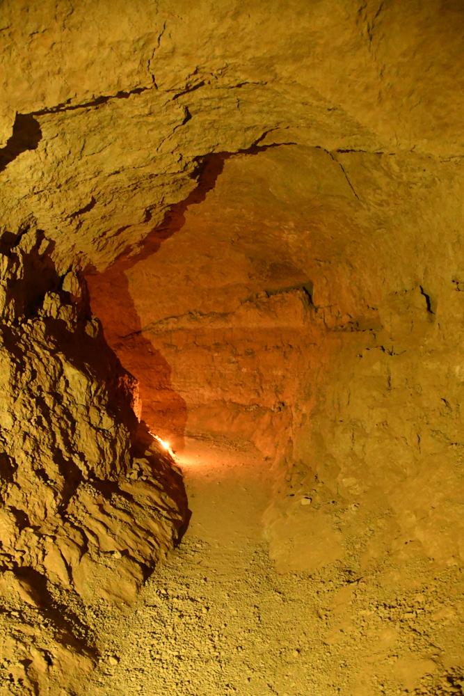 Foggara unterirdischer Gang Bewaesserungssystem Jorf