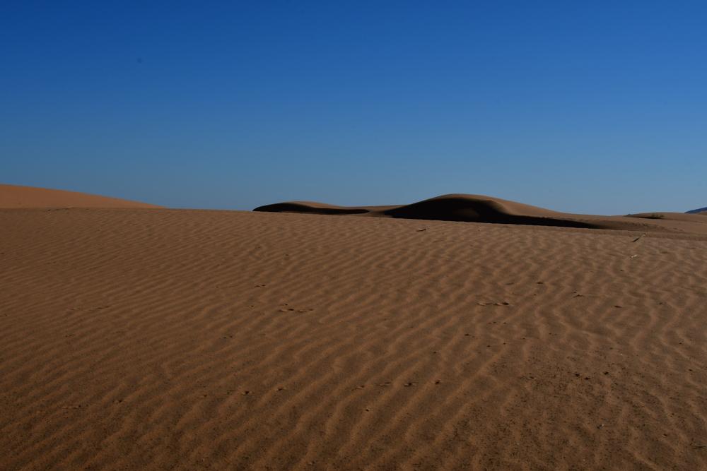 Kleine Sandduenen Ostumfahrung Erg Chebbi
