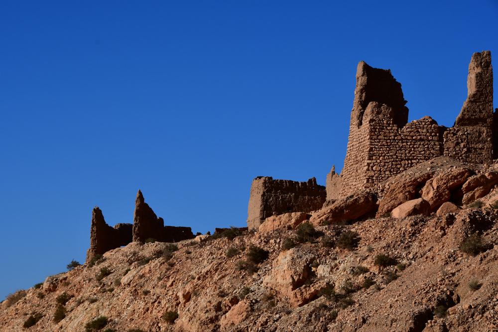 Ksar Tazougart alte Mauern