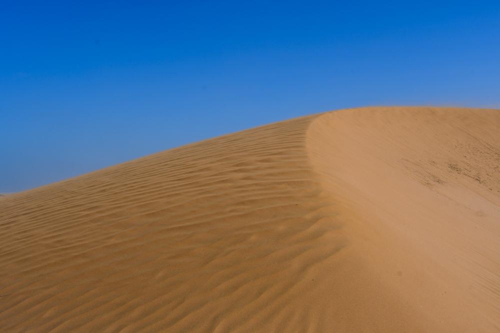 Sandduene blauer Himmel