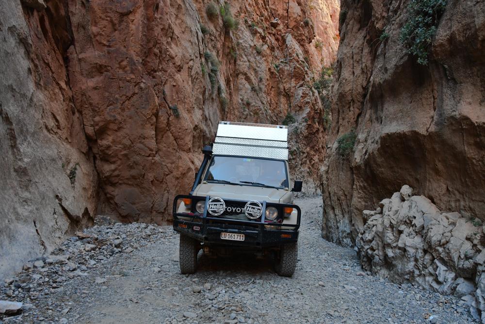 Schlucht Oued Jaffar Manny