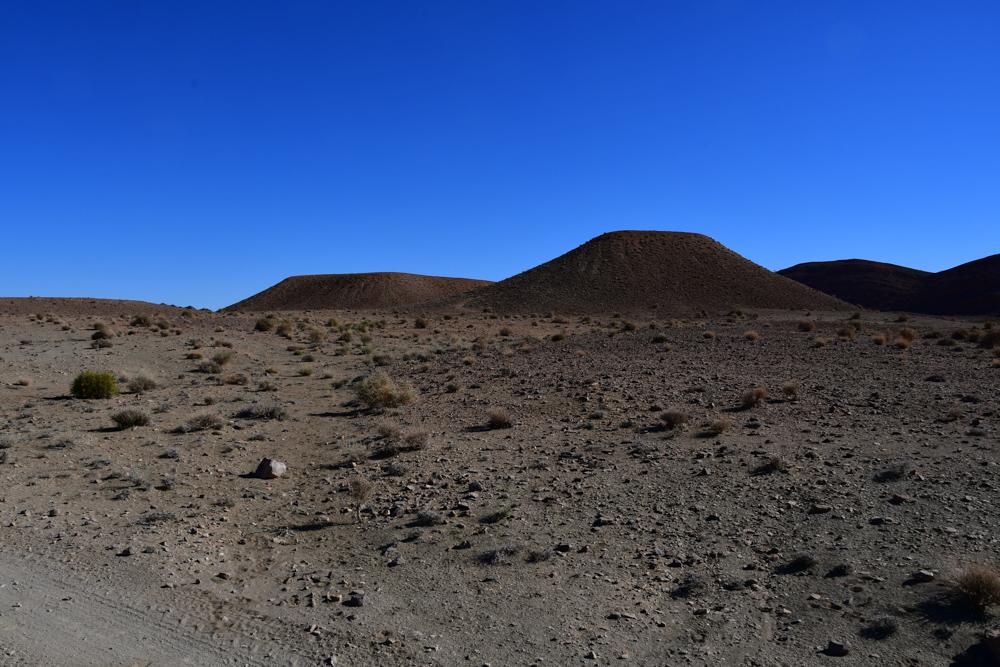 Steinige Huegel Wueste Region Boudnib